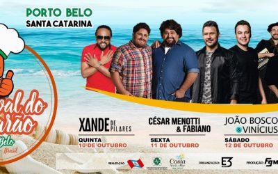 6° Festival do camarão de Porto Belo